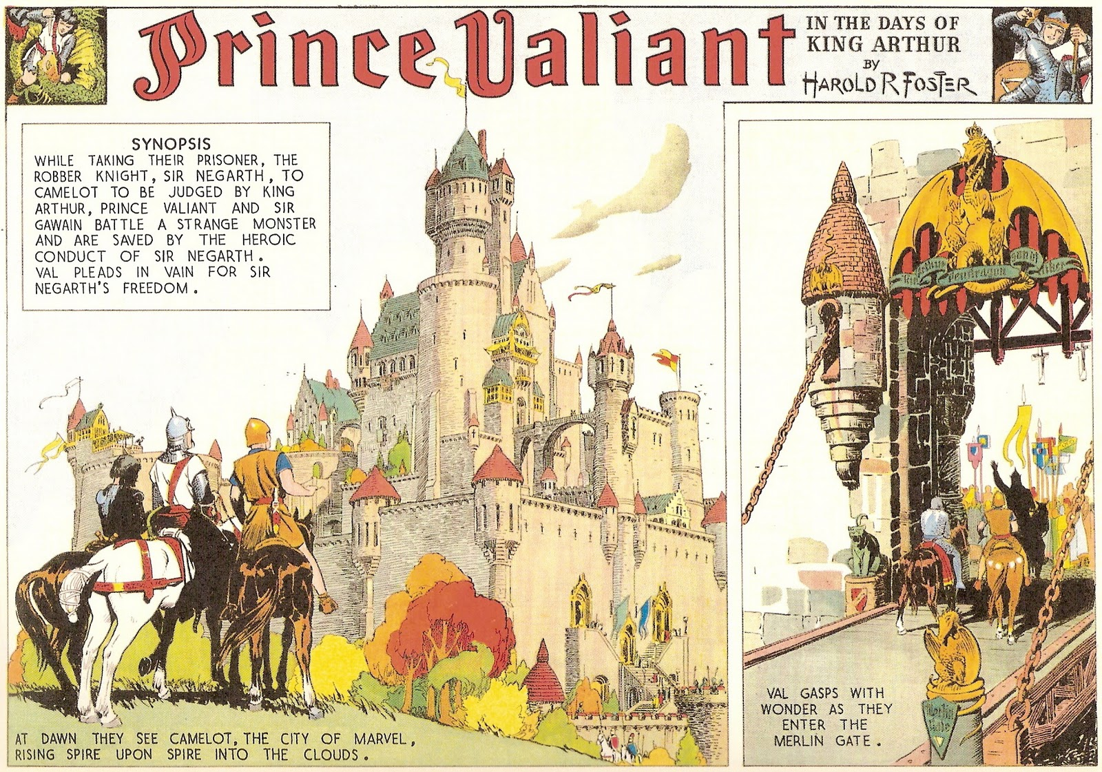 16. Prince Valiant in the Days of Arthur