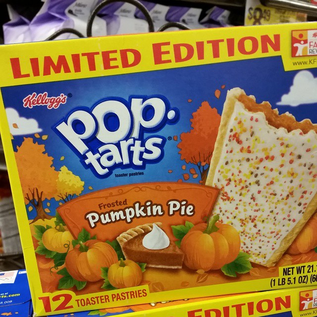 8: Pumpkin Pie Pop Tarts