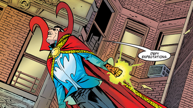 Doctor Strange Conjures Up a New Screenwriter