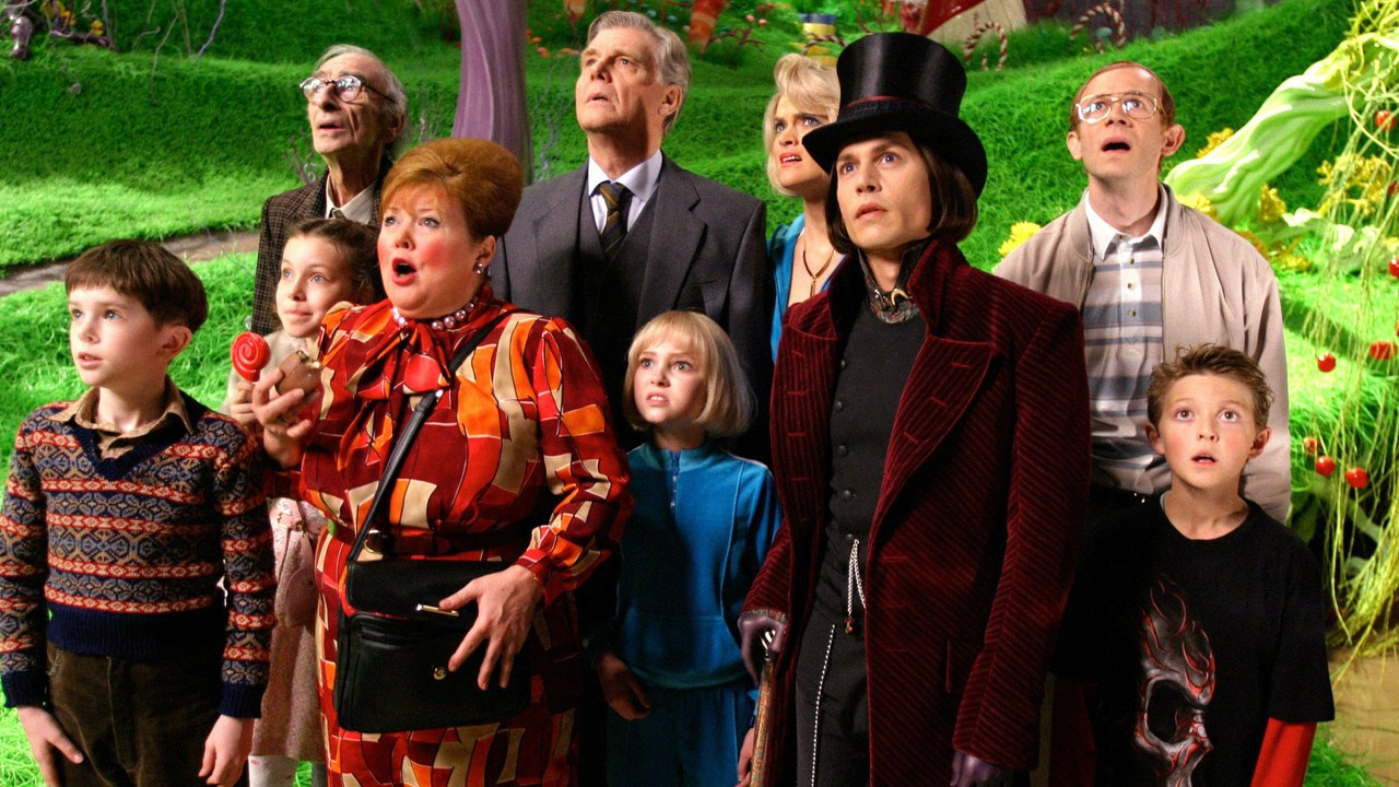 10. 'Charlie and the Chocolate Factory' (2005)