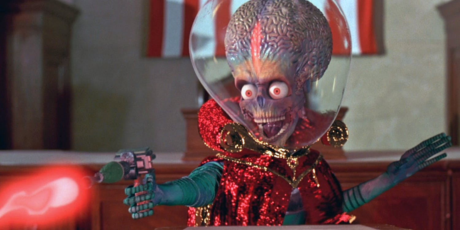 9. 'Mars Attacks' (1996)