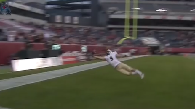 10. UCF's J.J. Worton Makes Impossible Clutch TD Grab