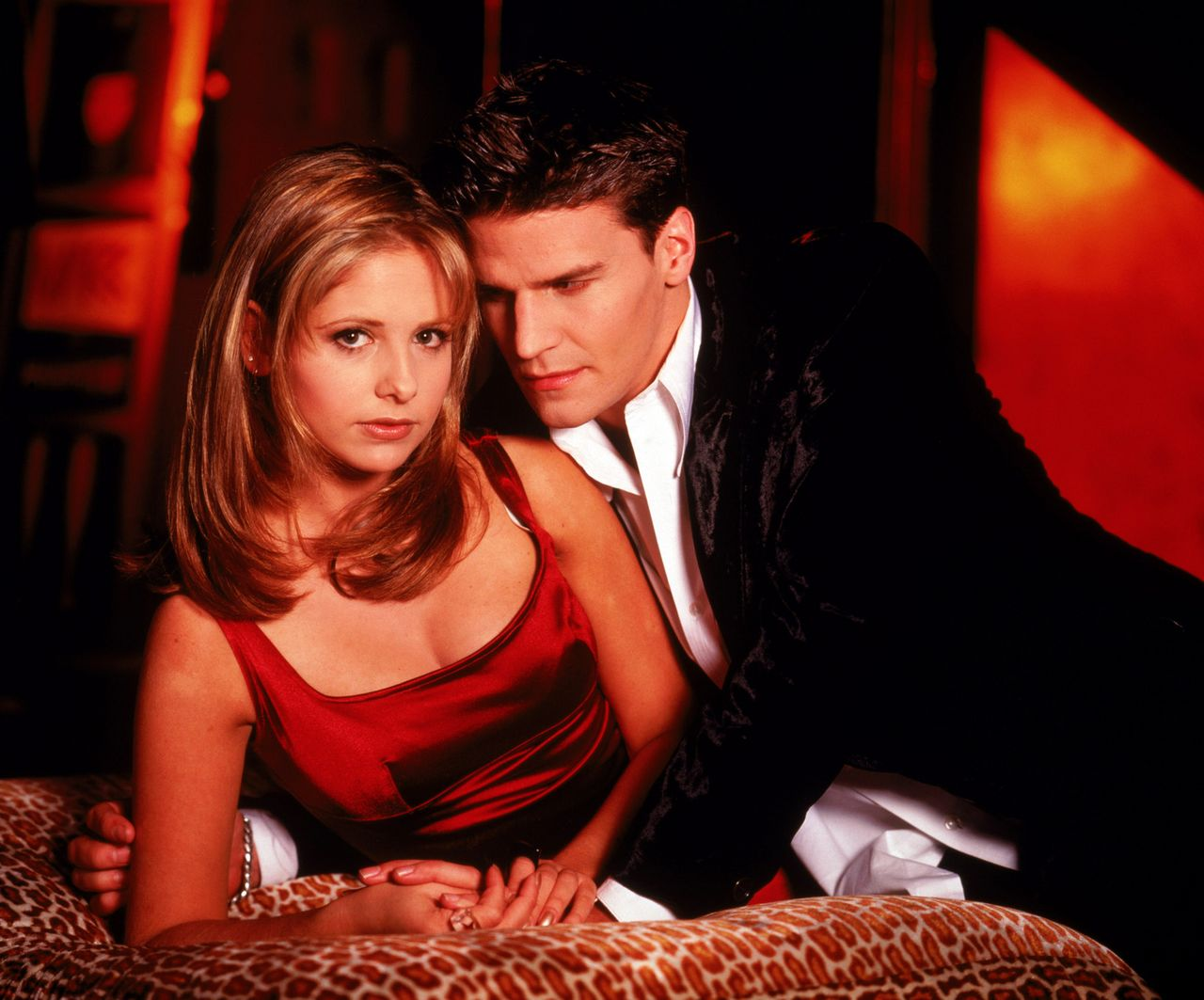 15. Angel and Buffy on 'Buffy the Vampire Slayer'