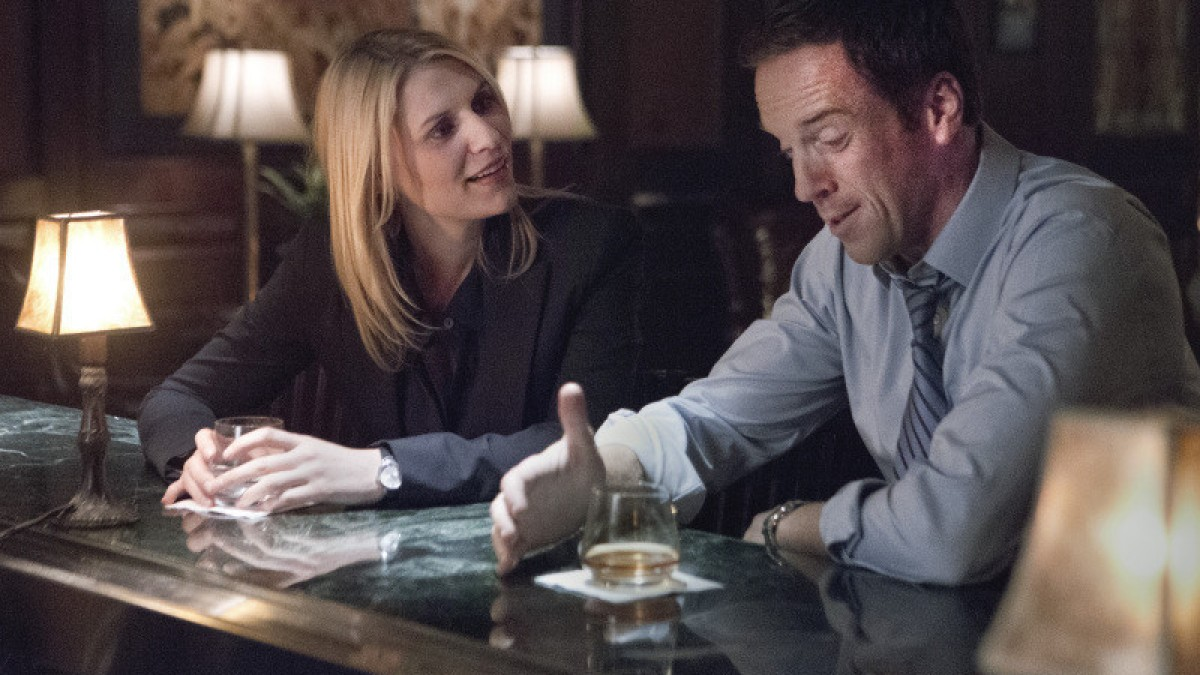 6. Carrie and Brody on 'Homeland'