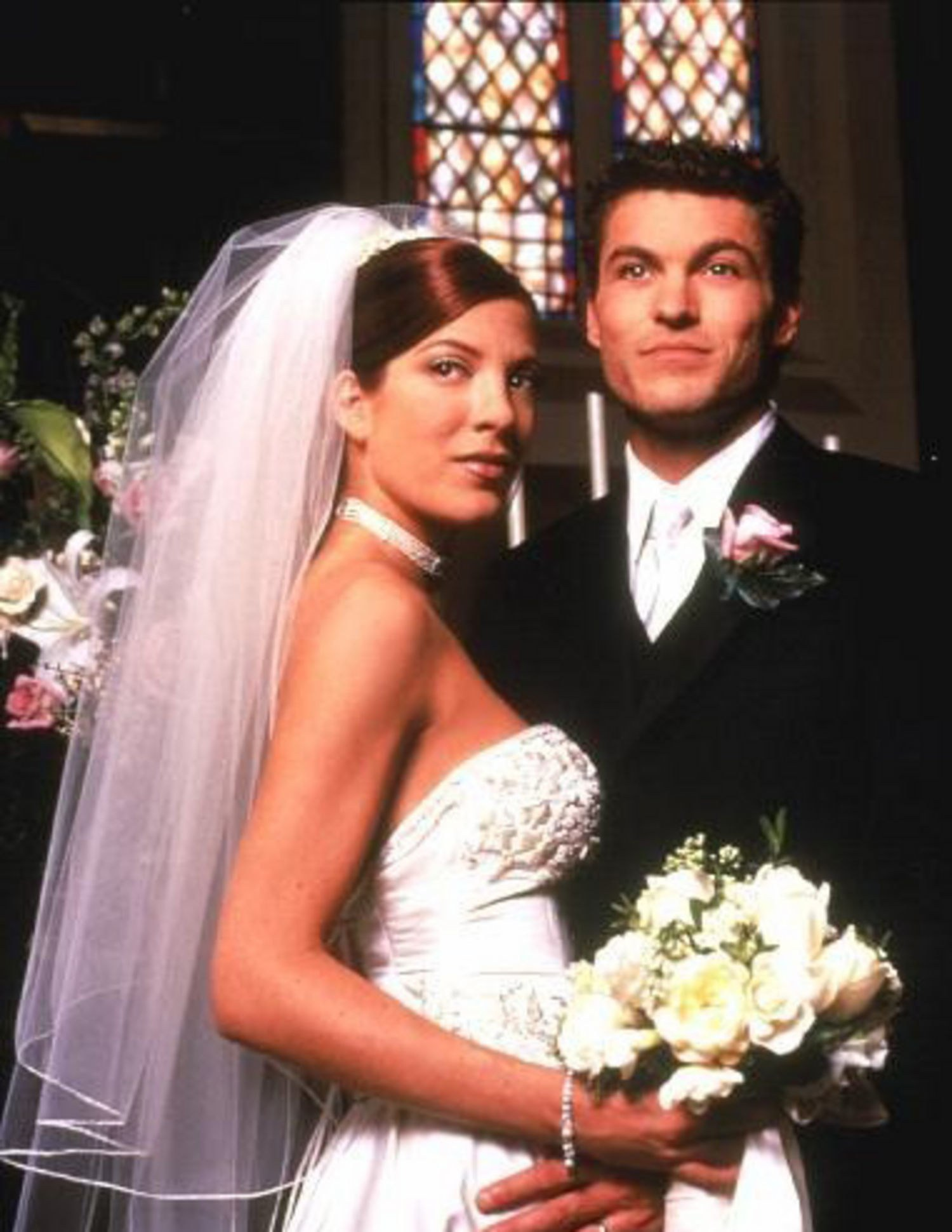 18. David and Donna on 'Beverly Hills 90210'