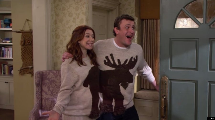 12. Marshall and Lily on 'How I Met Your Mother'