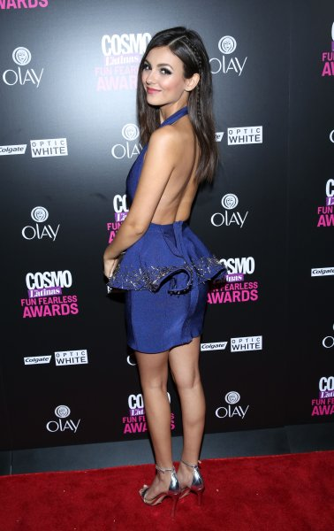 2015 Fun, Fearless Latina Awards at Hearst Tower - Arrivals Featuring: Victoria Justice Where: New York, United States When: 13 Oct 2015 Credit: Andres Otero/WENN.com