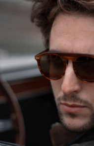 Stelvio Sunglasses in Horn