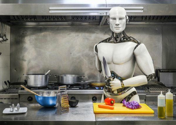 Real-Life Robot Chicken: Boston Restaurant Cooks Up 3-Minute Miracles