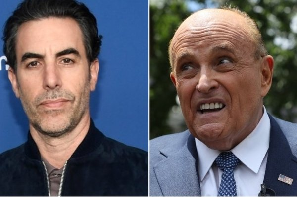 Rudy Giuliani Calls NYPD After Being Pranked by Sacha Baron Cohen, Can Only Take a Joke if it Becomes President