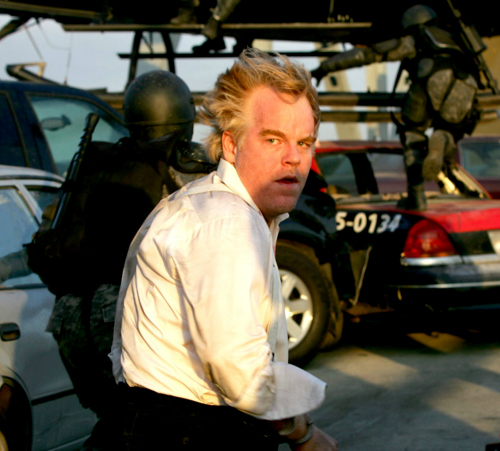 When Philip Seymour Hoffman was in 'Mission: Impossible III'