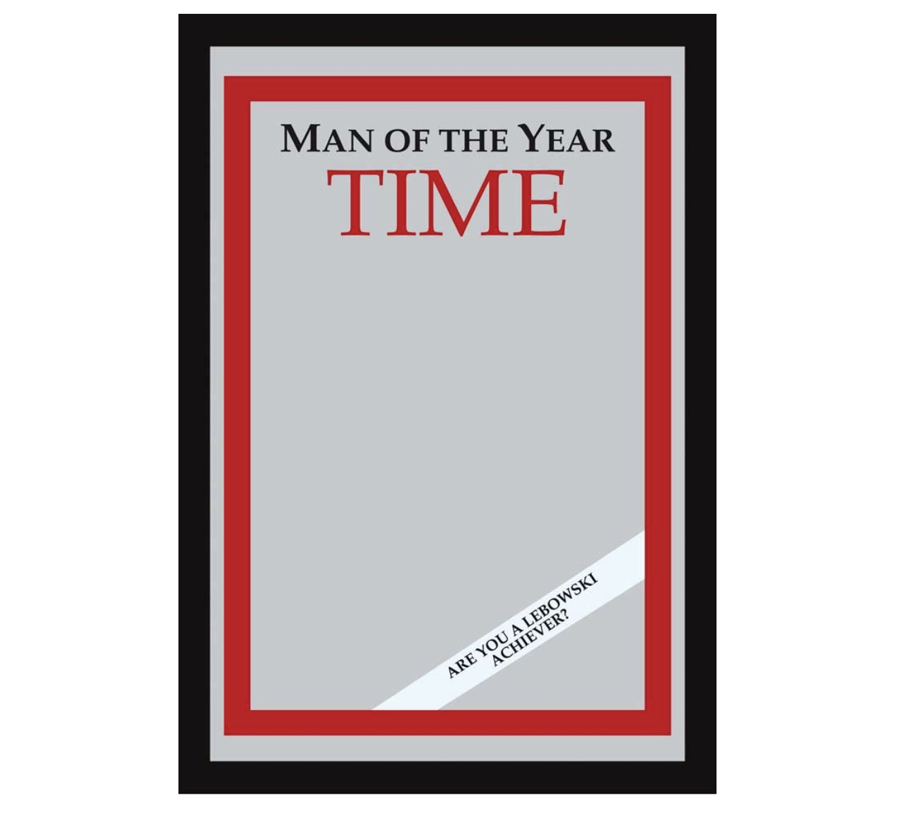 'The Big Lebowski' - Time: Man of the Year Bar Mirror