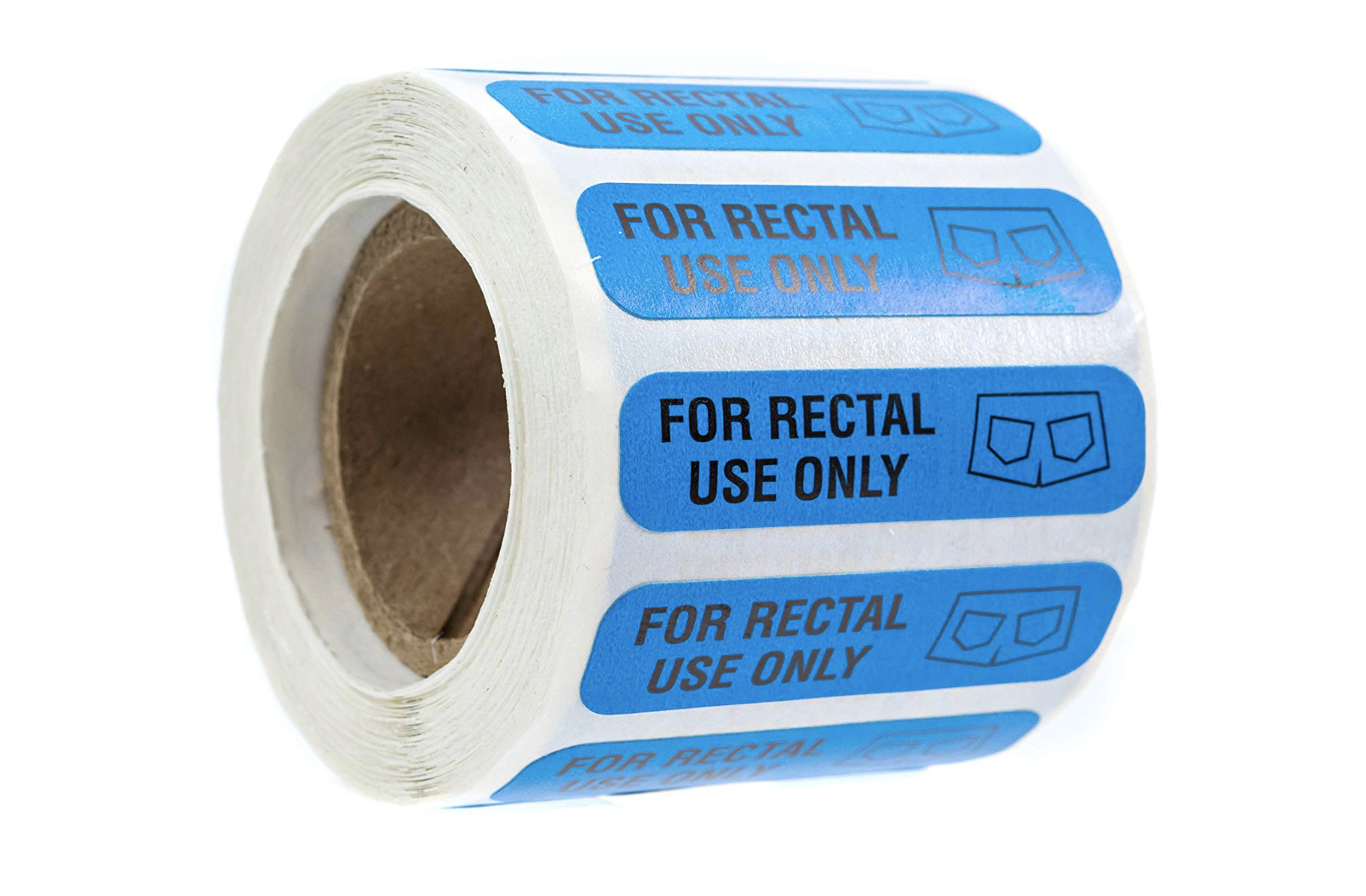 500 For Rectal Use Only Stickers
