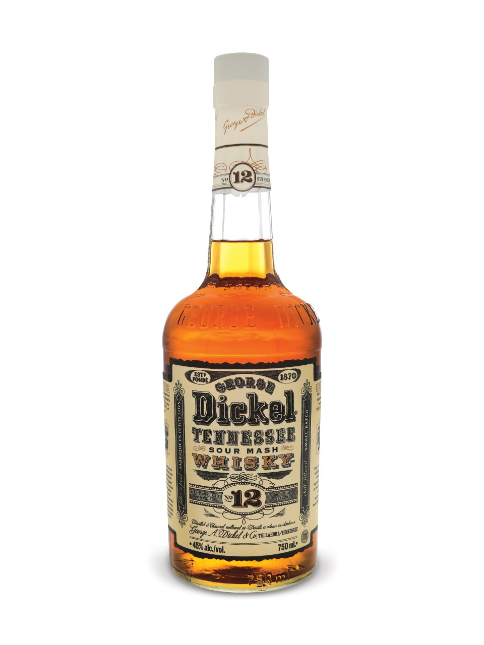7. Tennessee Whiskey – George Dickel Superior No. 12